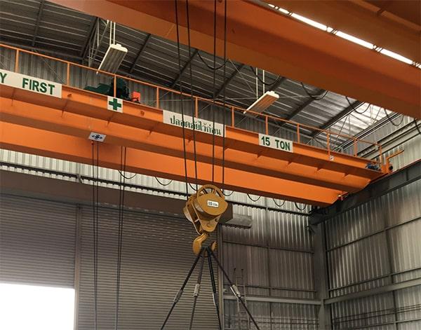โอเวอร์เฮดเครน overhead crane double girder
