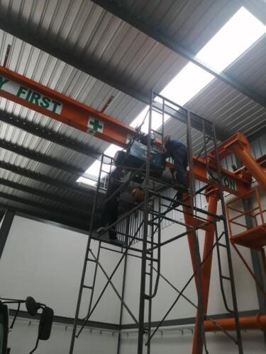 ติดตั้งเครนอย่างปลอดภัยกับทีมงงาน KP Factory Crane
